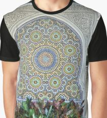 Mosaic and Planter Graphic T-Shirt