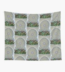 Mosaic and Planter Wall Tapestry
