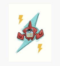 Rotom Pokedex Art Print