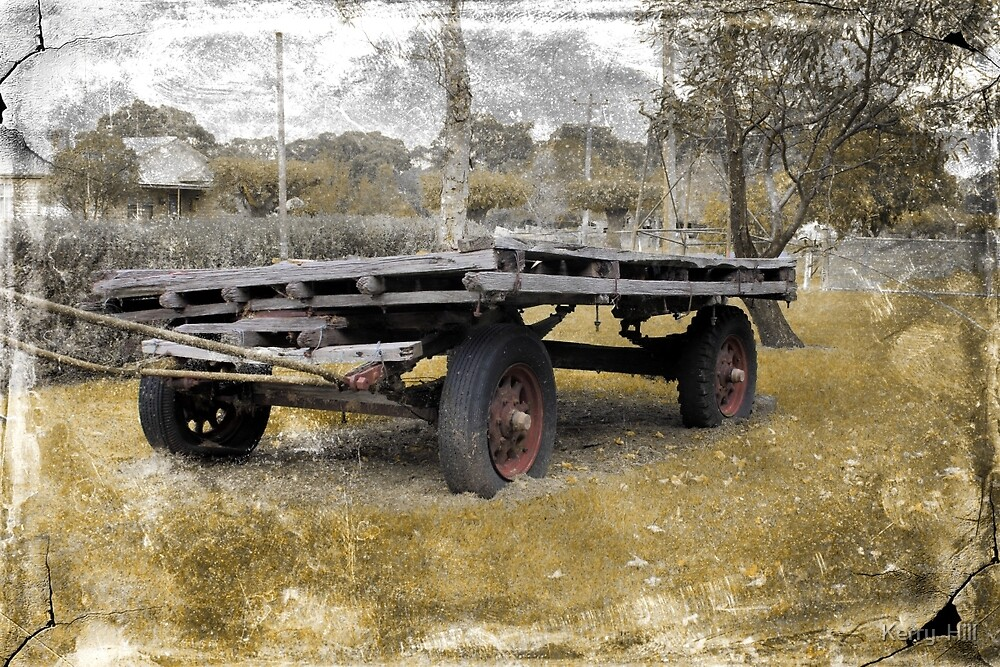 Old wagon by Kerry  Hill