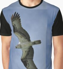 Osprey in Flight Graphic T-Shirt