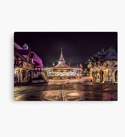 Prince Charming Regal Carrousel Canvas Print