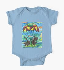 Sky diving Cool Cat  Kids Clothes