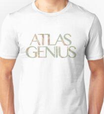 Atlas Genius Vintage Floral Print Slim Fit T-Shirt