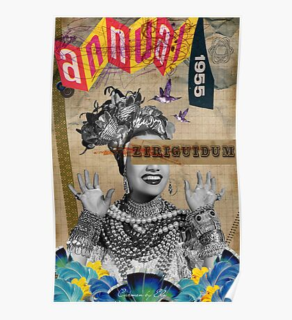 Public Figures Collection -- Carmen by Elo Poster