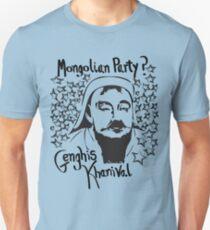 Mongolian party = Genghis Khanival T-Shirt