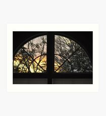 Out the Window, As Is Art Print