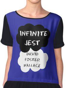 Infinite Jest Shirt Chiffon Top