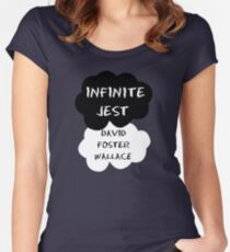 Infinite Jest Shirt Women's Fitted Scoop T-Shirt