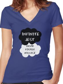Infinite Jest Shirt Women's Fitted V-Neck T-Shirt
