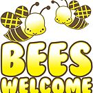 Bees welcome by jazzydevil