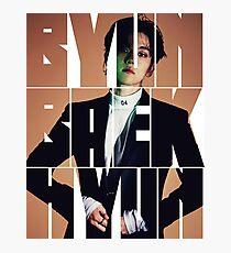 EXO Baekhyun 'Monster' Typography Photographic Print