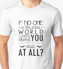 The Infernal Devices Quote Unisex T-Shirt