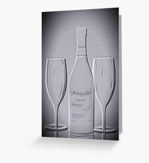Wine forTwo - Just Imagine Greeting Card