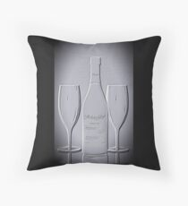 Wine forTwo - Just Imagine Throw Pillow