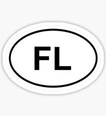 Florida State Sticker Sticker