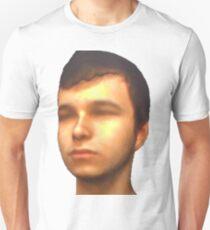 Modelo 3d de uma cabeça Unisex T-Shirt