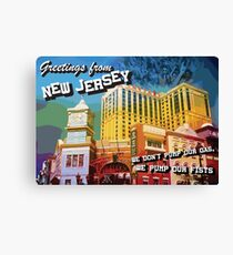 Welcome to NJ Canvas Print