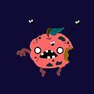 Apple Zombie Food Edition by zachsymartsy