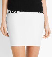 I've had short term memory loss for as long as I can remember. Mini Skirt