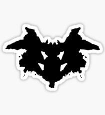 Rorschach Psychology Test Item for Psychologists! Sticker