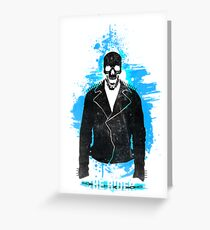 The Rider - Ghostrider Greeting Card