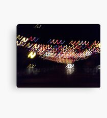 Coloured lights colored lights Canvas Print
