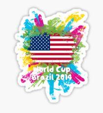 World Cup Brazil 2014 - USA Sticker