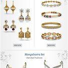Bridal Jewellery Sets Buy Online by Raj Kundra