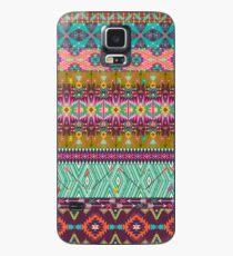 Seamless colorful aztec pattern with birds and arrow Case/Skin for Samsung Galaxy