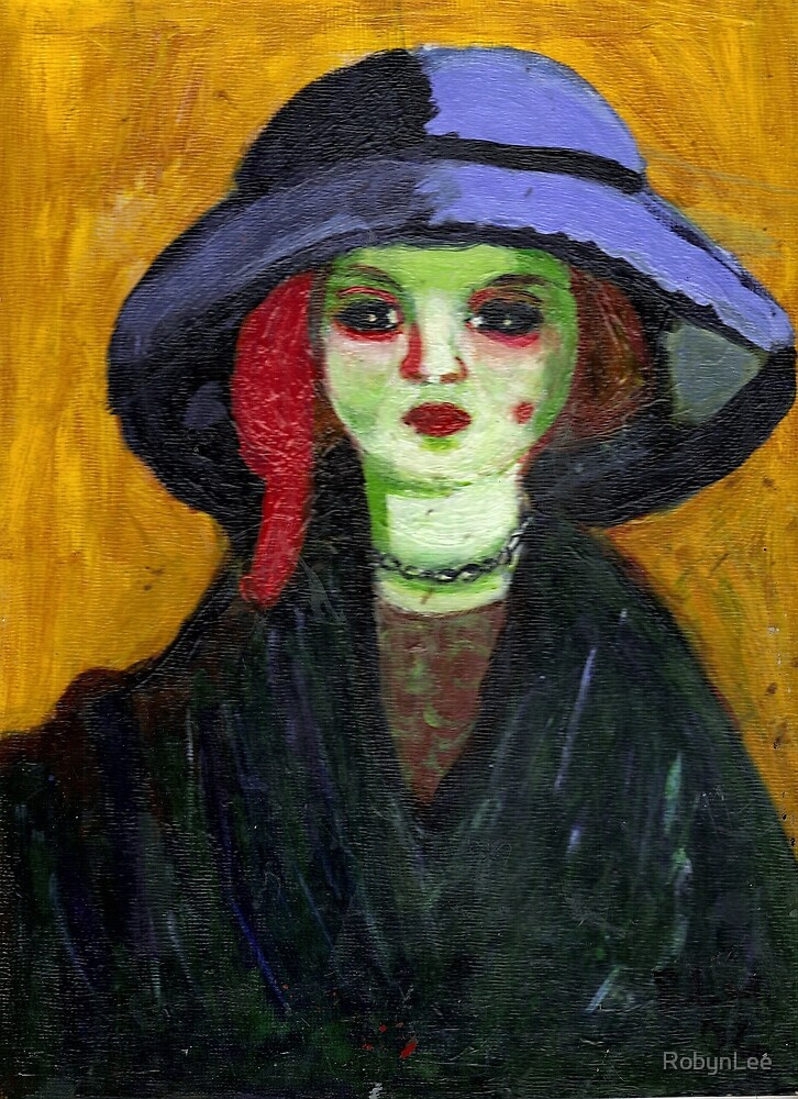 Dolly (After Kees Van Dongen) by RobynLee