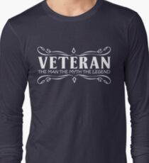 gift for father veteran T-Shirt