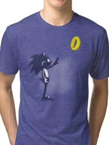 Hedgehog with ring Tri-blend T-Shirt