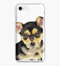 Black Pup iPhone Case/Skin