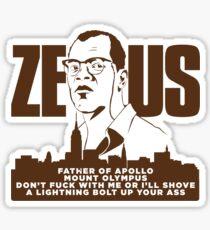 Zeus (Die Hard) Sticker