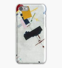 Kazimir Malevich - Suprematism. Abstract painting: abstract art, geometric, expressionism, composition, lines, forms, creative fusion, spot, shape, illusion, fantasy future iPhone Case/Skin