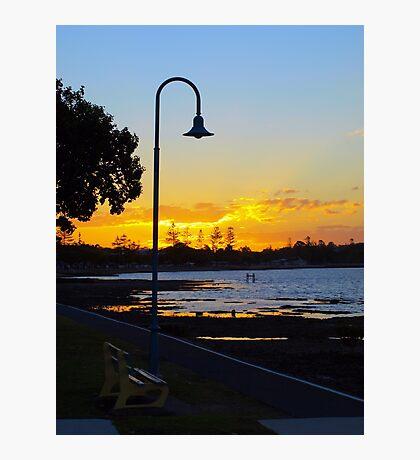 Wynnum Sunset 2 Photographic Print
