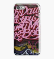Reb Dawg will you marry me Bobby Hoiser Lane iPhone Case/Skin
