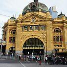 Flinders Street Station by djnatdog