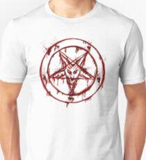Camiseta unisex Pentagrama satánico