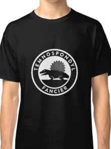 Temnospondyl Fancier Tee (White on dark) Classic T-Shirt