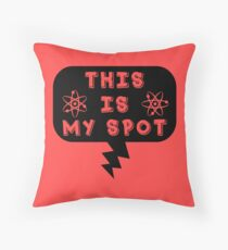 This is my spot - Throw Pillow Throw Pillow