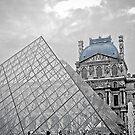 Blue Louvre by David  Perea
