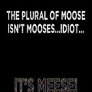 The Plural of Moose by Catherine Liversidge