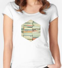 Bookworm Women's Fitted Scoop T-Shirt