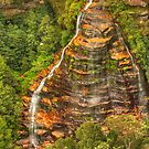 Bridal Veil Falls ... from the top by Michael Matthews
