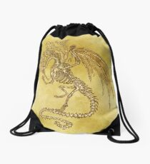 5x Dragon Drawstring Bag