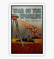 War of the Worlds Glossy Sticker