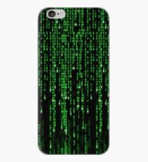 Matrix code style design iPhone-Hülle & Cover