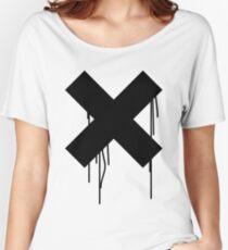 X graffiti drip Women's Relaxed Fit T-Shirt